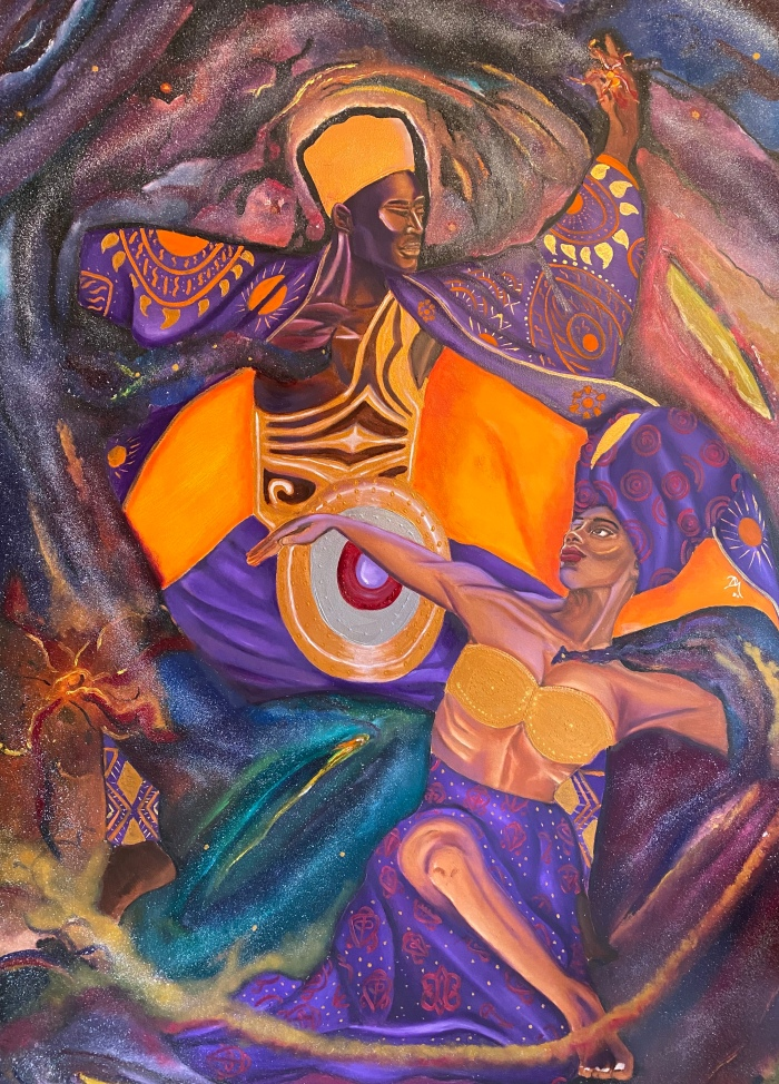 Ifẹ Ti ẹmi: Spiritual Passion Series Title: A Dance In The Milky Way